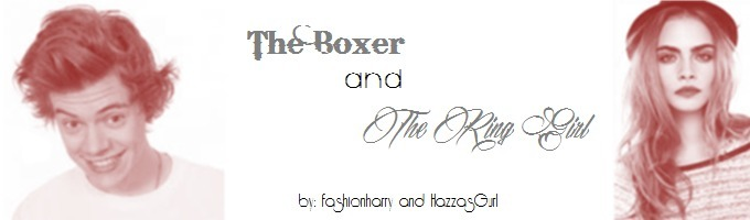 THE BOXER AND THE RING GIRL